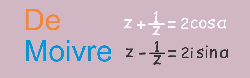 Aplikasi Teorema De Moivre Pada Trigonometri